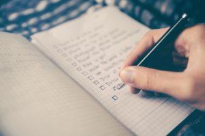 Listes to do organiser les tâches de son blog