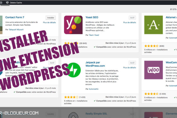 Comment installer un plugin WordPress ?